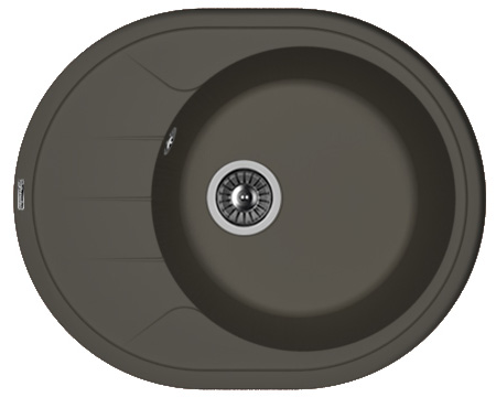 Кухонная мойка РОДОС 620: Антрацит