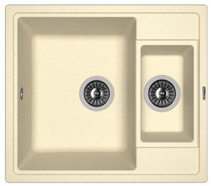 Кухонная мойка ЛИПСИ 580К: Шампань