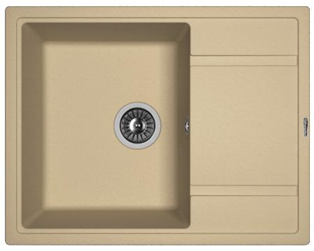 Кухонная мойка ЛИПСИ 650: Капучино