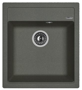 Кухонная мойка ЛИПСИ 460: Чёрный