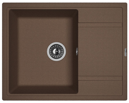 Кухонная мойка ЛИПСИ 650: Мокко