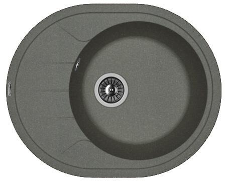 Кухонная мойка РОДОС 620: Чёрный