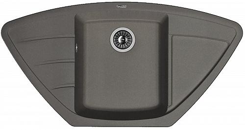 Кухонная мойка ЛИПСИ 980С: Чёрный