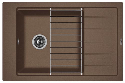 Кухонная мойка ЛИПСИ 780Р: Мокко