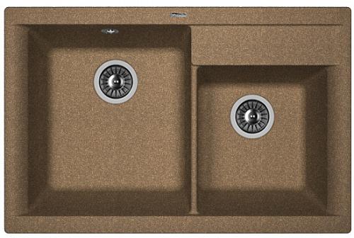Кухонная мойка КАССИ 780: Коричневый