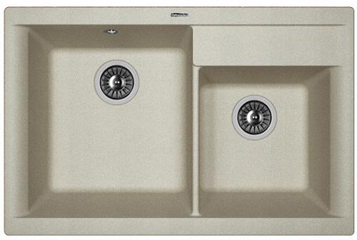 Кухонная мойка КАССИ 780: Грей
