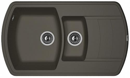 Кухонная мойка НИРЕ 860К: Антрацит