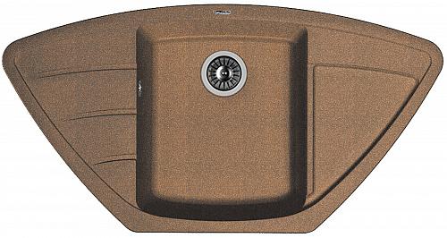 Кухонная мойка ЛИПСИ 980С: Коричневый