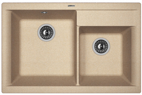 Кухонная мойка КАССИ 780: Песочный