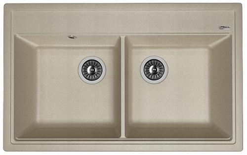Кухонная мойка ЛИПСИ 820: Грей