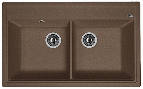 Кухонная мойка ЛИПСИ 820: Мокко