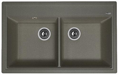Кухонная мойка ЛИПСИ 820: Чёрный