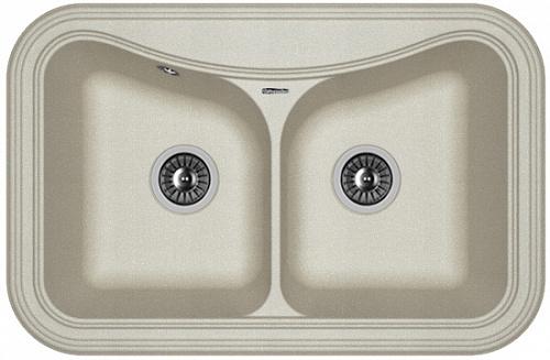 Кухонная мойка КРИТ 780А: Грей