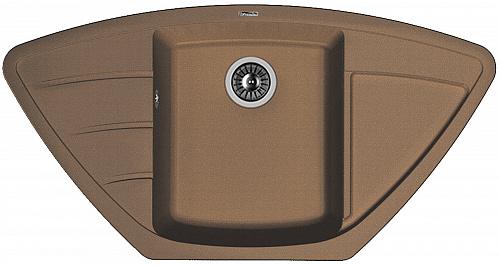Кухонная мойка ЛИПСИ 980С: Мокко