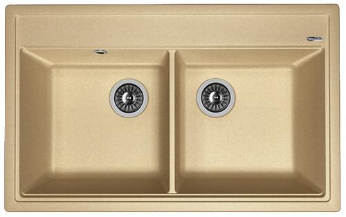 Кухонная мойка ЛИПСИ 820: Бежевый