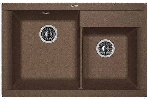 Кухонная мойка КАССИ 780: Мокко
