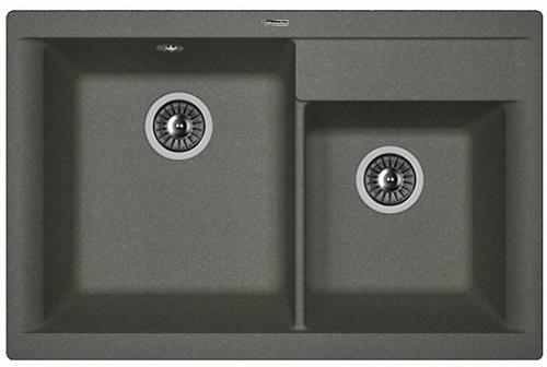 Кухонная мойка КАССИ 780: Чёрный