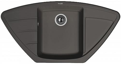 Кухонная мойка ЛИПСИ 980С: Антрацит