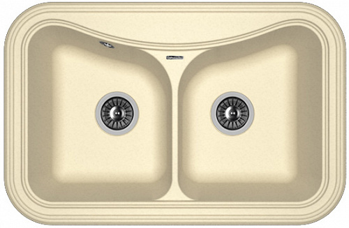 Кухонная мойка КРИТ 780А: Шампань