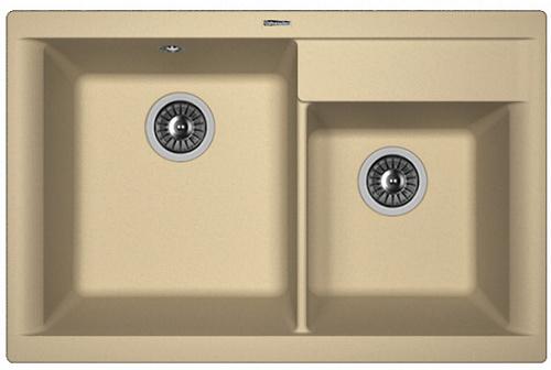 Кухонная мойка КАССИ 780: Капучино