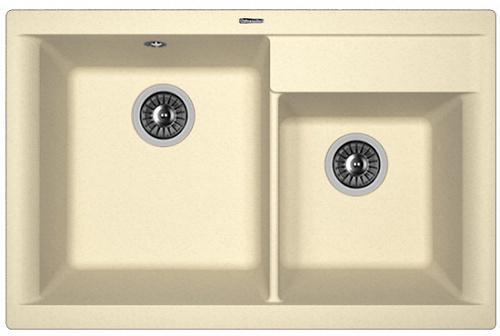 Кухонная мойка КАССИ 780: Шампань