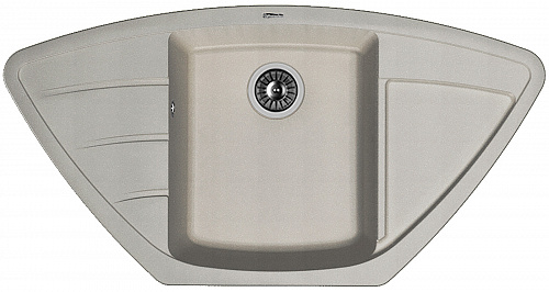 Кухонная мойка ЛИПСИ 980С: Грей