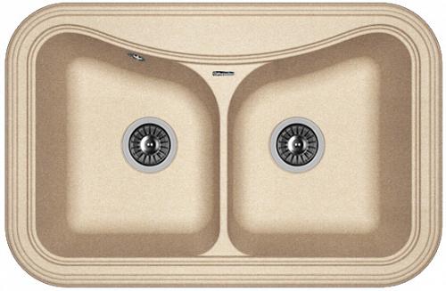 Кухонная мойка КРИТ 780А: Песочный