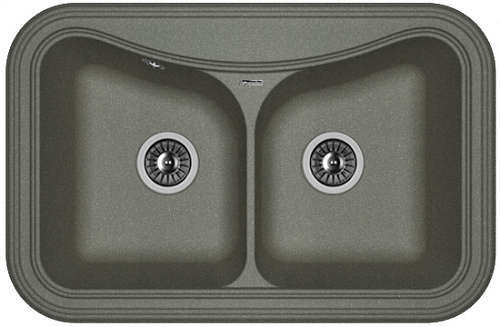 Кухонная мойка КРИТ 780А: Чёрный