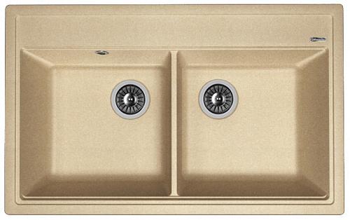 Кухонная мойка ЛИПСИ 820: Песочный