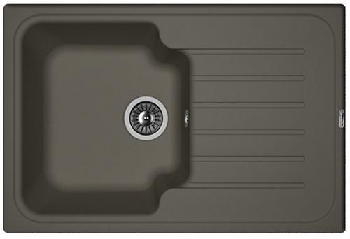 Кухонная мойка ТАИС 760: Антрацит