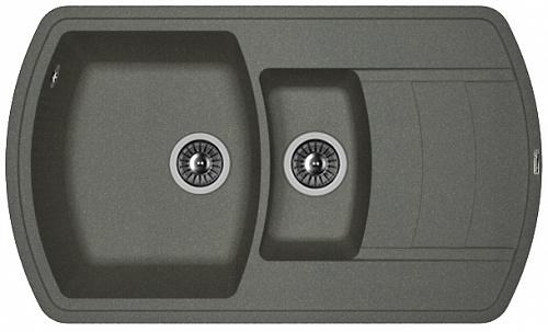 Кухонная мойка НИРЕ 860К: Чёрный