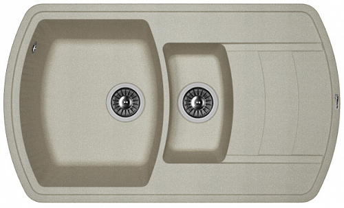 Кухонная мойка НИРЕ 860К: Грей