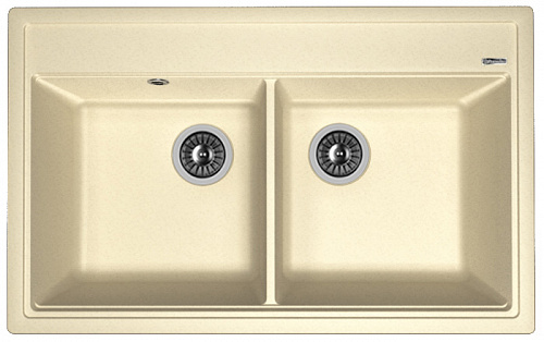 Кухонная мойка ЛИПСИ 820: Шампань
