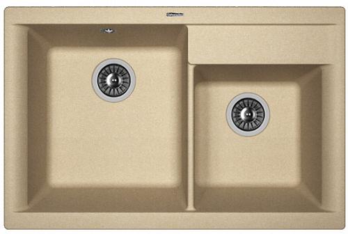 Кухонная мойка КАССИ 780: Бежевый